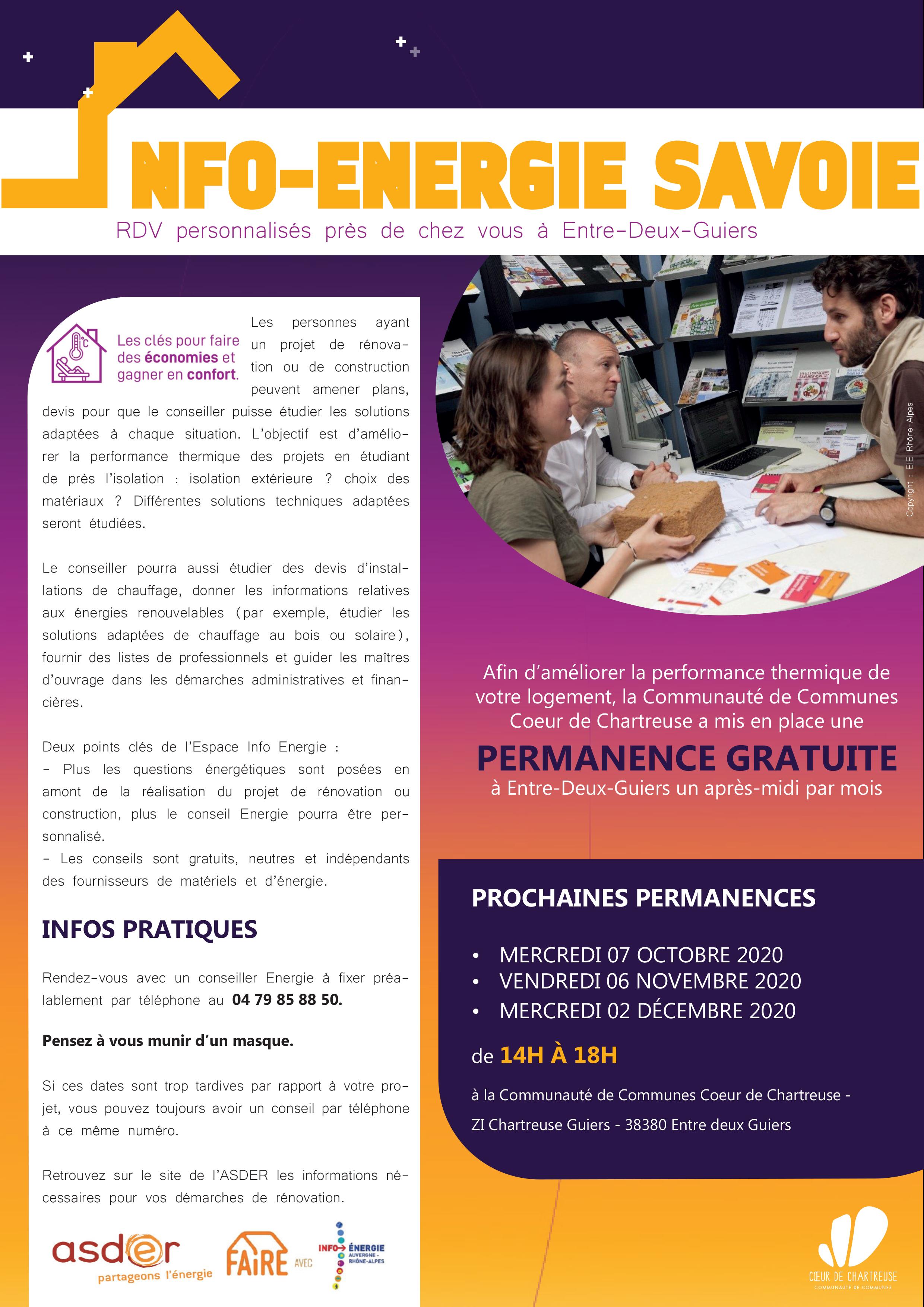 Des RdV de Conseil rénovation énergétique gratuits près de chez vous en Chartreuse