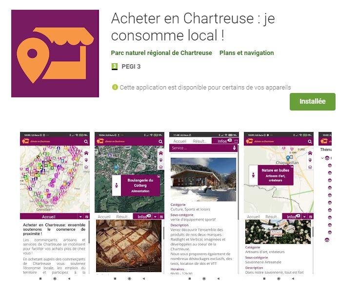 Ensemble soutenons les commerces de Chartreuse !