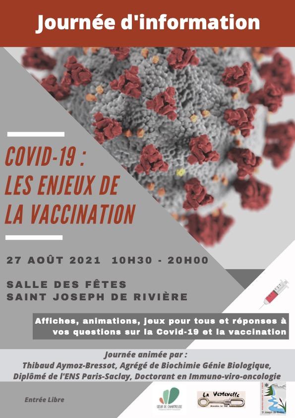 Journée d'information sur les enjeux de la vaccination